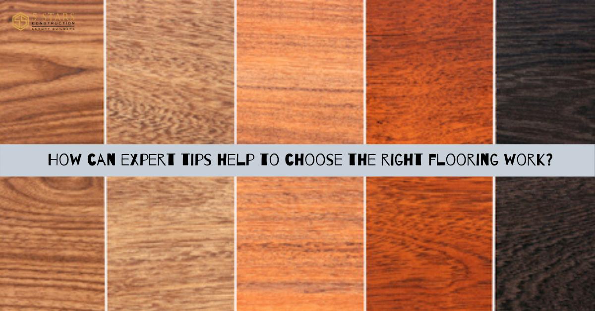 Quality flooring work