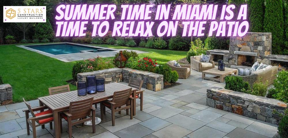 renovated patio in Miami-Dade