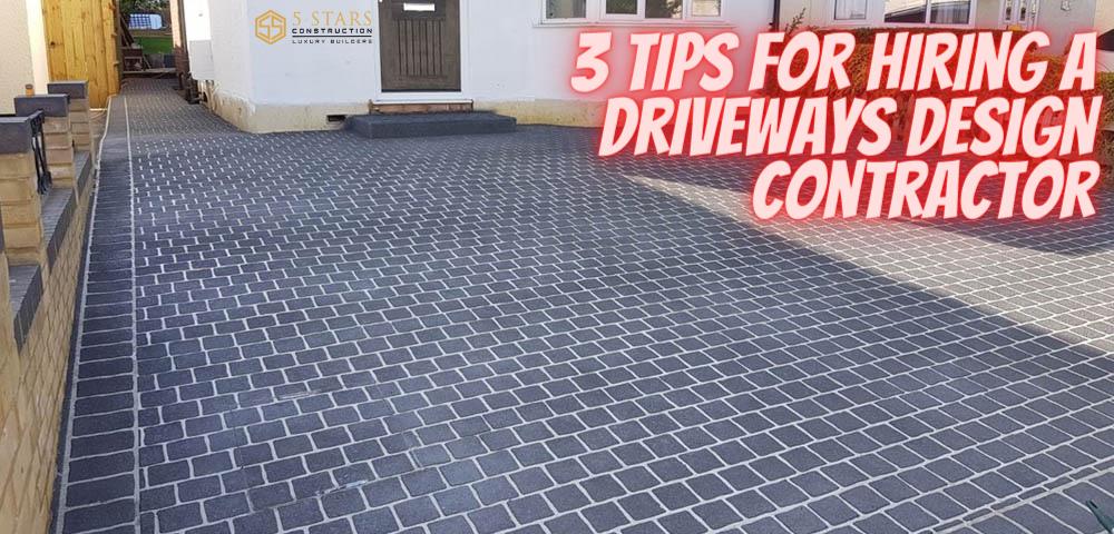 driveways design contractors